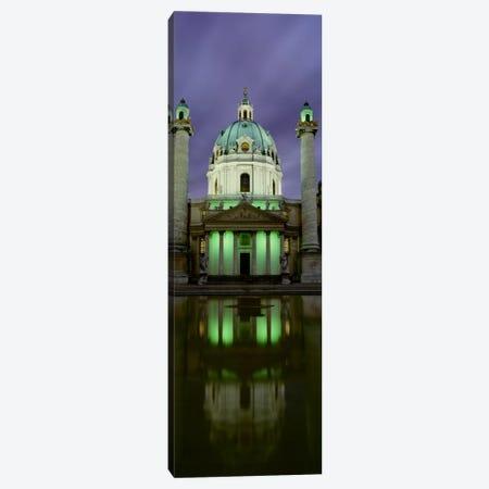 AustriaVienna, Facade of St. Charles Church Canvas Print #PIM1681} by Panoramic Images Art Print