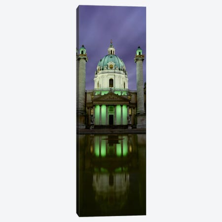 AustriaVienna, Facade of St. Charles Church Canvas Print #PIM1681} by Panoramic Images Art Print