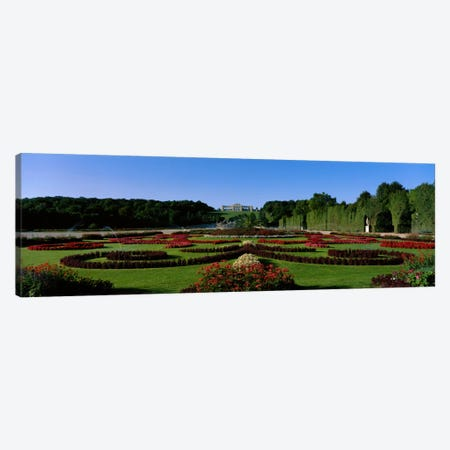 Schonbrun Gardens Vienna Austria Canvas Print #PIM1683} by Panoramic Images Art Print