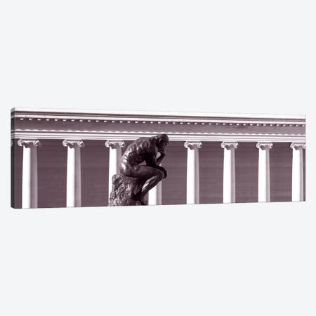 Rodin SculptureSan Francisco, California, USA Canvas Print #PIM1689} by Panoramic Images Canvas Print