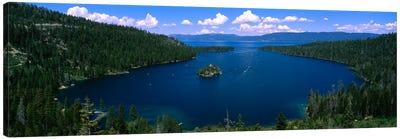 Fannette Island, Emerald Bay, Lake Tahoe, California, USA Canvas Art Print