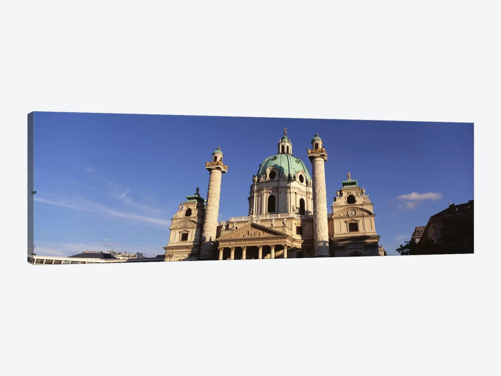 Austria, Vienna, Facade of St. Charles Church by Panoramic Images 1-piece Art Print