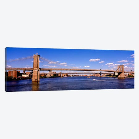 Brooklyn Bridge, NYC, New York City, New York State, USA Canvas Print #PIM1708} by Panoramic Images Canvas Art