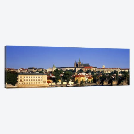Charles Bridge Prague Czech Republic Canvas Print #PIM1712} by Panoramic Images Canvas Print