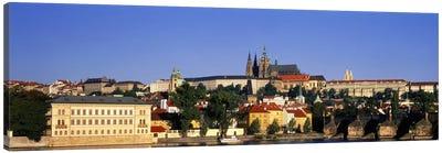 Charles Bridge Prague Czech Republic Canvas Print #PIM1712