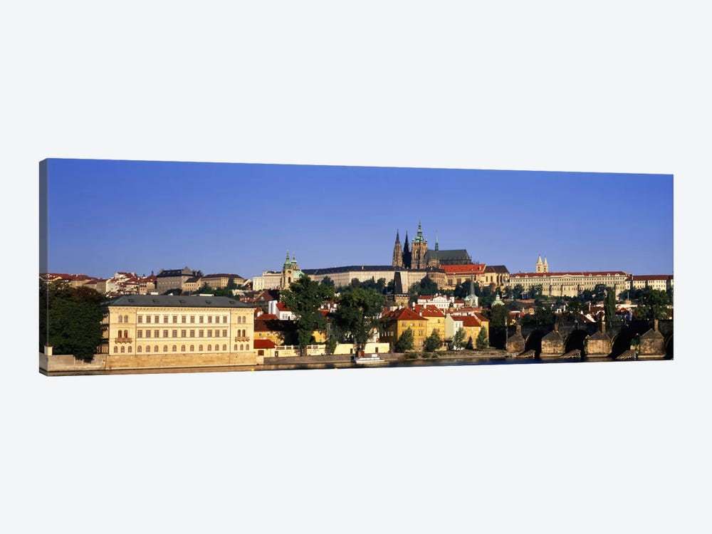 Charles Bridge Prague Czech Republic 1-piece Canvas Artwork