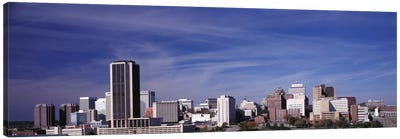 Downtown Skyline, Richmond, Virginia, USA Canvas Art Print