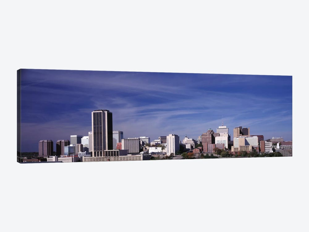 Downtown Skyline, Richmond, Virginia, USA by Panoramic Images 1-piece Canvas Artwork
