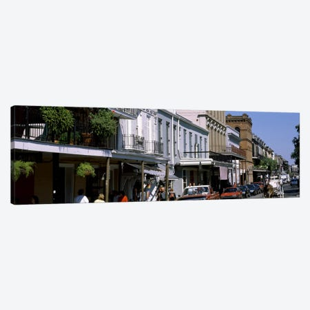 Buildings in a city, French Quarter, New Orleans, Louisiana, USA Canvas Print #PIM1726} by Panoramic Images Canvas Print