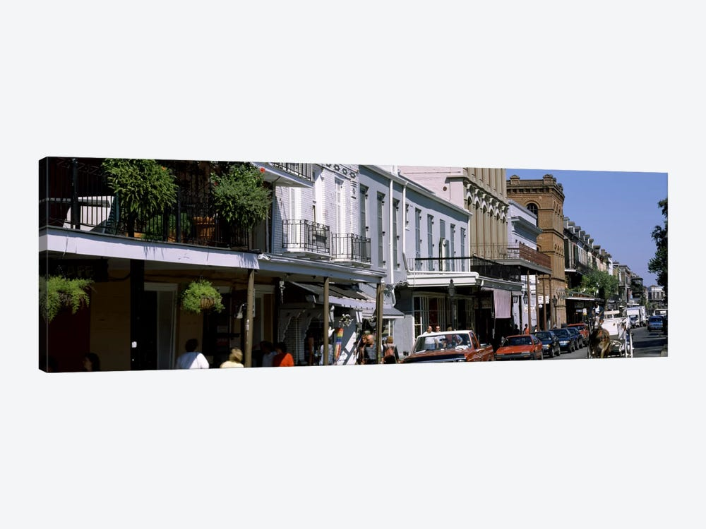 Buildings in a city, French Quarter, New Orleans, Louisiana, USA by Panoramic Images 1-piece Canvas Art Print