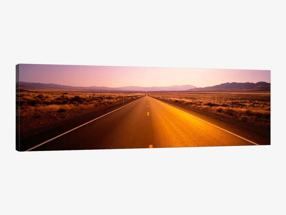 Desert Road, Nevada, USA by Panoramic Images 1-piece Canvas Artwork
