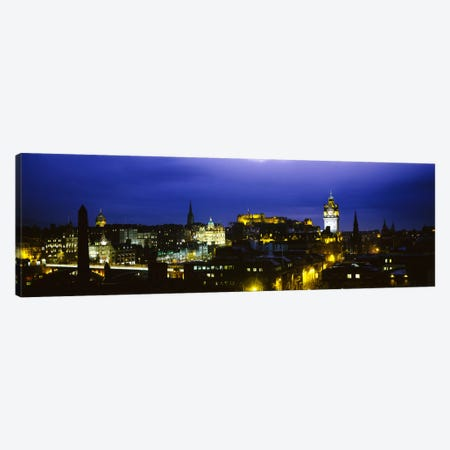 City Centre, Edinburgh, Scotland, United Kingdom Canvas Print #PIM1731} by Panoramic Images Art Print