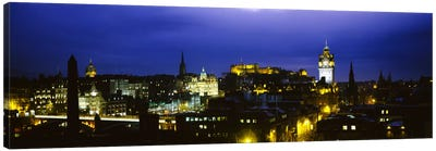 City Centre, Edinburgh, Scotland, United Kingdom Canvas Print #PIM1731