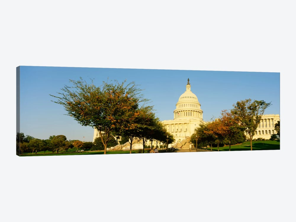 Capitol Building, Washington DC, District Of Columbia, USA by Panoramic Images 1-piece Canvas Wall Art
