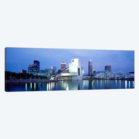 Rock And Roll Hall Of Fame, Cleveland, Ohio, USA Canvas Print #PIM1739} by Panoramic Images Canvas Art Print