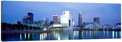 Rock And Roll Hall Of Fame, Cleveland, Ohio, USA Canvas Art Print
