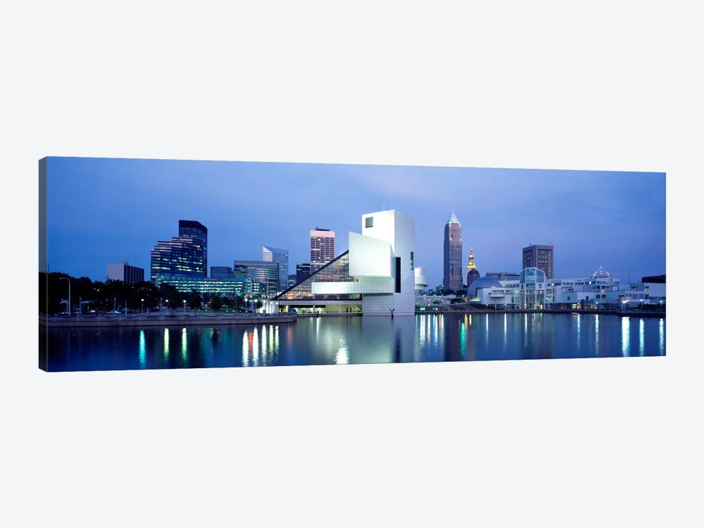Rock And Roll Hall Of Fame, Cleveland, Ohio, USA by Panoramic Images 1-piece Canvas Print