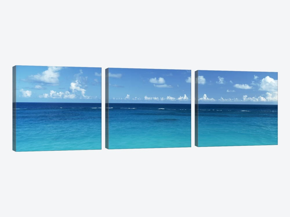 View Of The Atlantic Ocean, Bermuda by Panoramic Images 3-piece Art Print