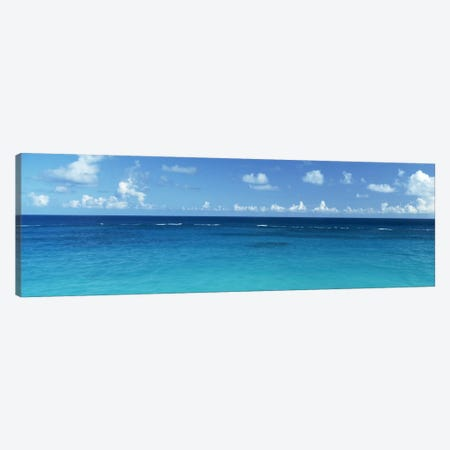 View Of The Atlantic Ocean, Bermuda 3-Piece Canvas #PIM1742} by Panoramic Images Canvas Art