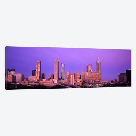 Skyscrapers in a city, Atlanta, Georgia, USA Canvas Print #PIM1743} by Panoramic Images Canvas Art