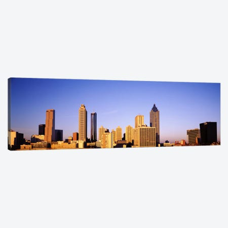 Skyscrapers in a city, Atlanta, Georgia, USA #2 Canvas Print #PIM1744} by Panoramic Images Art Print
