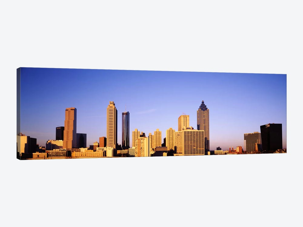 Skyscrapers in a city, Atlanta, Georgia, USA #2 by Panoramic Images 1-piece Canvas Print