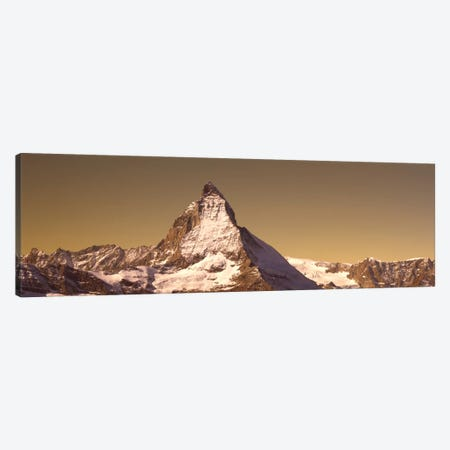 Matterhorn Switzerland Canvas Print #PIM1756} by Panoramic Images Canvas Wall Art