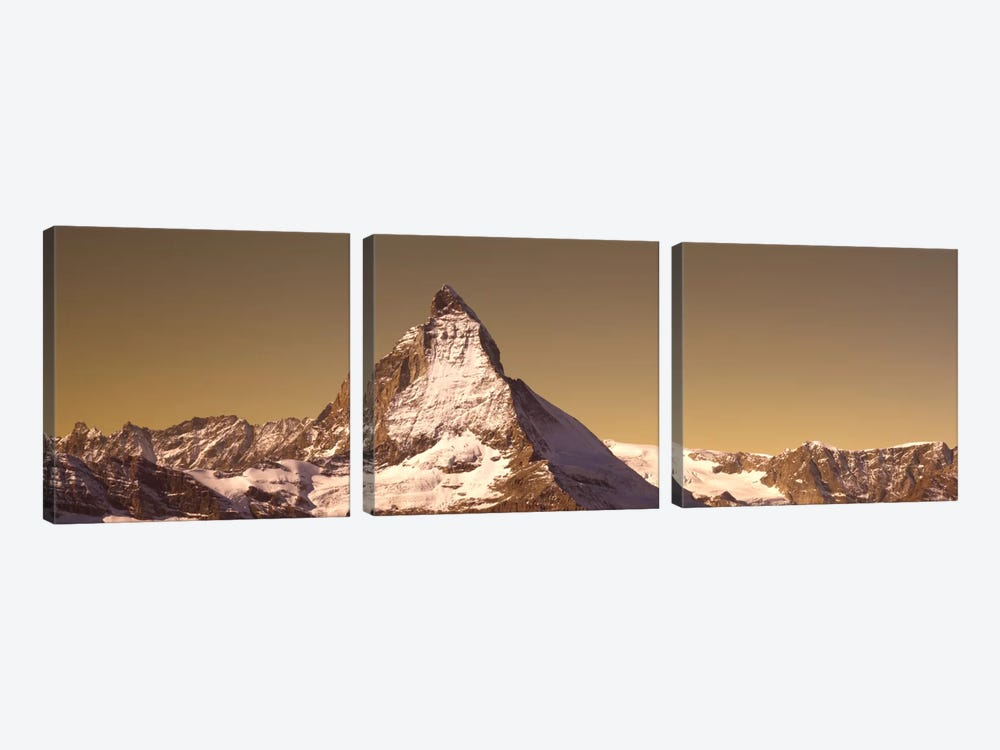Matterhorn Switzerland by Panoramic Images 3-piece Canvas Artwork