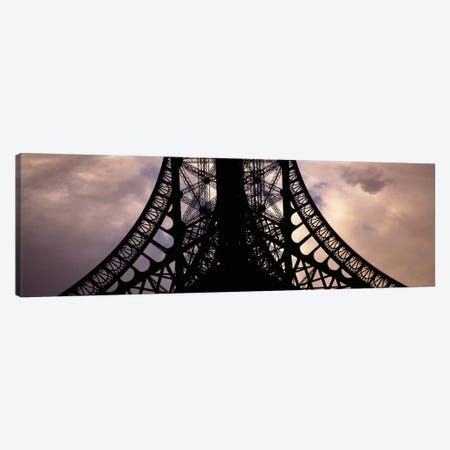 Eiffel Tower Paris France Canvas Print #PIM1757} by Panoramic Images Canvas Wall Art