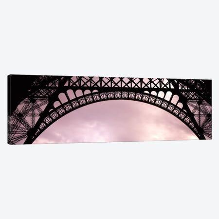 Sauvestre's Decorative Grill-Work Arches, Eiffel Tower, Paris, Ile-de-France, France Canvas Print #PIM1758} by Panoramic Images Art Print