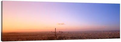 Aerial View, Paris, France Canvas Print #PIM1760