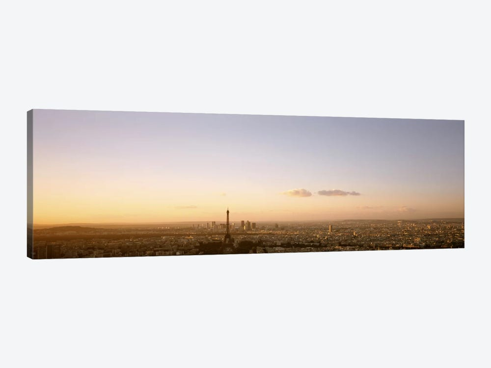 Aerial View At Sunrise, Paris, France by Panoramic Images 1-piece Canvas Art
