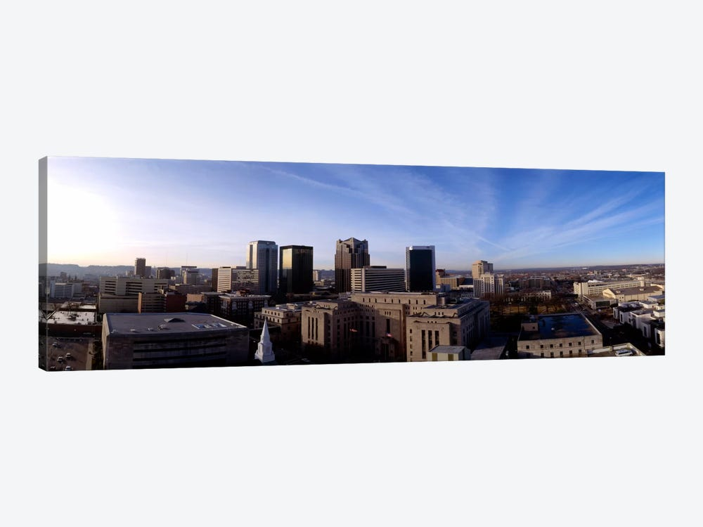 Buildings in a city, Birmingham, Jefferson county, Alabama, USA by Panoramic Images 1-piece Canvas Wall Art