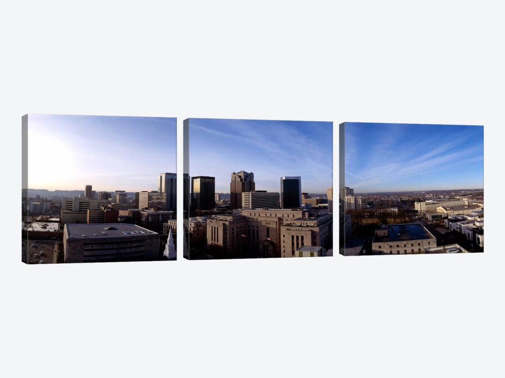Buildings in a city, Birmingham, Jefferson county, Alabama, USA by Panoramic Images 3-piece Canvas Art