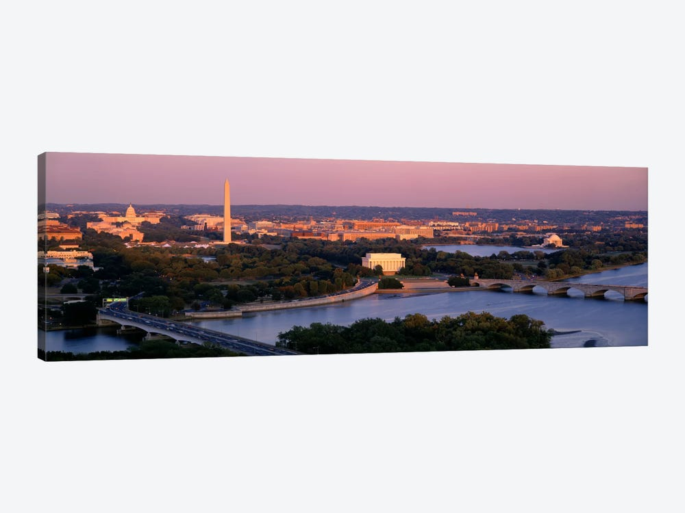 Aerial, Washington DC, District Of Columbia, USA by Panoramic Images 1-piece Art Print