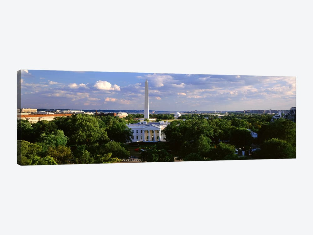 Aerial, White House, Washington DC, District Of Columbia, USA by Panoramic Images 1-piece Canvas Art Print