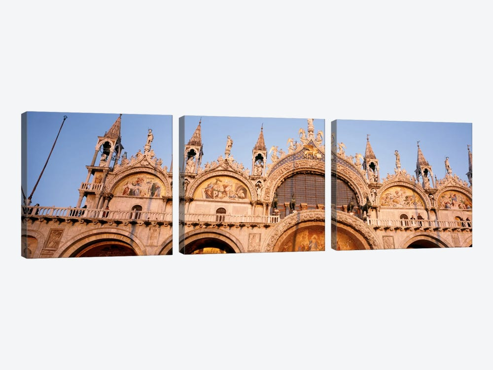 Basilica di San Marco Venice Italy by Panoramic Images 3-piece Canvas Wall Art