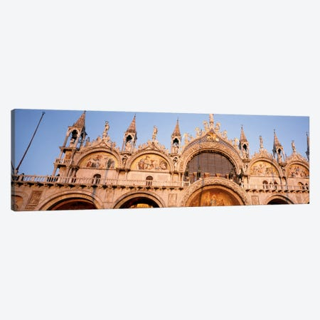 Basilica di San Marco Venice Italy Canvas Print #PIM1781} by Panoramic Images Canvas Wall Art