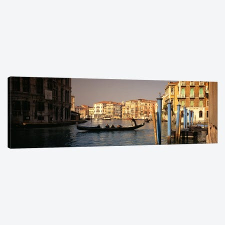 Grand Canal, Venice, Italy Canvas Print #PIM1782} by Panoramic Images Canvas Artwork