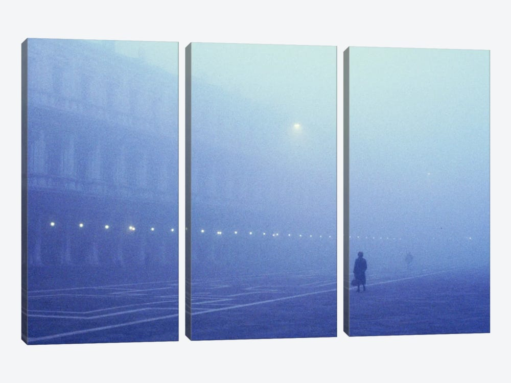 Foggy Venice Italy by Panoramic Images 3-piece Canvas Print