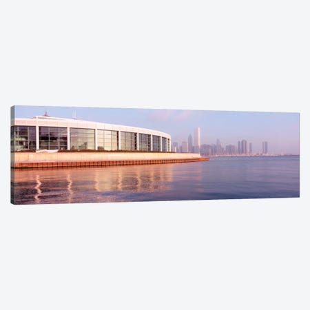Building Structure Near The Lake, Shedd Aquarium, Chicago, Illinois, USA Canvas Print #PIM1791} by Panoramic Images Canvas Print