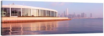 Building Structure Near The Lake, Shedd Aquarium, Chicago, Illinois, USA Canvas Print #PIM1791