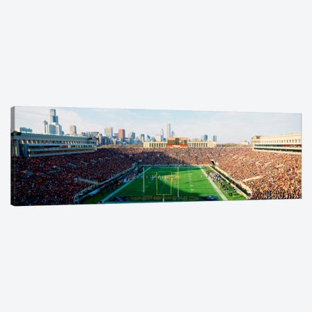 High angle view of spectators in a stadiumSoldier Field (before renovations), Chicago, Illinois, USA Canvas Print #PIM1792} by Panoramic Images Canvas Print