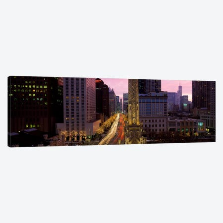 Buildings in a city, Michigan Avenue, Chicago, Cook County, Illinois, USA Canvas Print #PIM1793} by Panoramic Images Canvas Art Print
