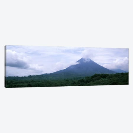 Clouds over a mountain peak, Arenal Volcano, Alajuela Province, Costa Rica Canvas Print #PIM1817} by Panoramic Images Canvas Art Print
