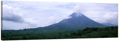 Clouds over a mountain peak, Arenal Volcano, Alajuela Province, Costa Rica Canvas Art Print