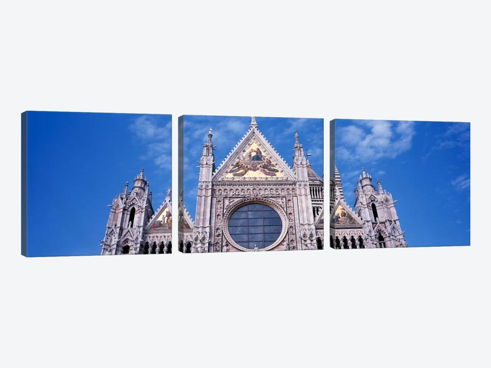 Catedrale Di Santa Maria, Sienna, Italy by Panoramic Images 3-piece Canvas Wall Art