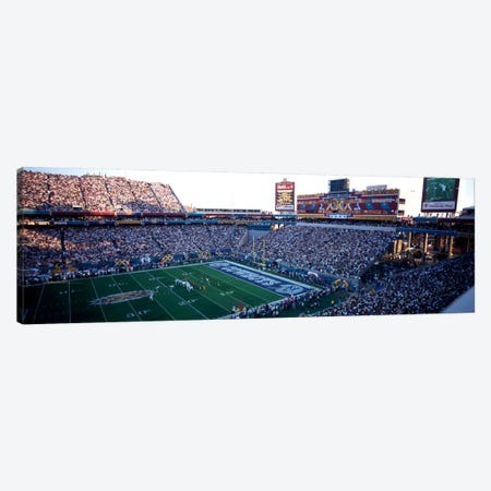 High angle view of a football stadium, Sun Devil Stadium, Arizona State University, Tempe, Maricopa County, Arizona, USA Canvas Print #PIM1827} by Panoramic Images Canvas Artwork