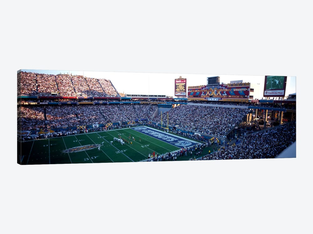 High angle view of a football stadium, Sun Devil Stadium, Arizona State University, Tempe, Maricopa County, Arizona, USA by Panoramic Images 1-piece Canvas Artwork