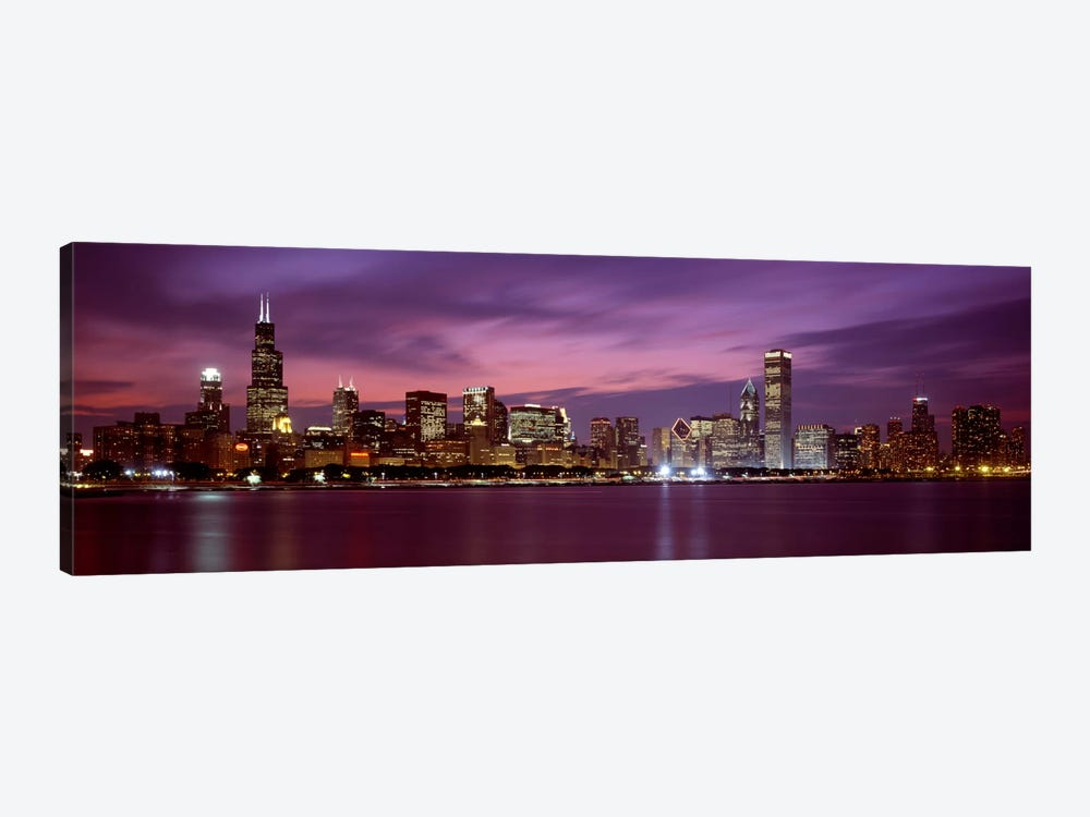 Downtown Skyline, Chicago, Illinois, USA by Panoramic Images 1-piece Canvas Art